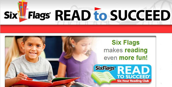 Six Flags Read to Succeed Reading Program-forms due to Mrs. Horton by Feb. 22nd