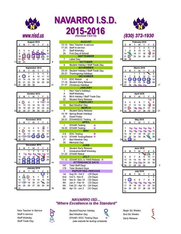 School Board adopts 2015-2016 Calendar