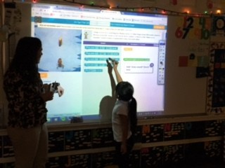 Lincoln Kindergarten had their Hour of Code this morning!!! Thumbnail Image