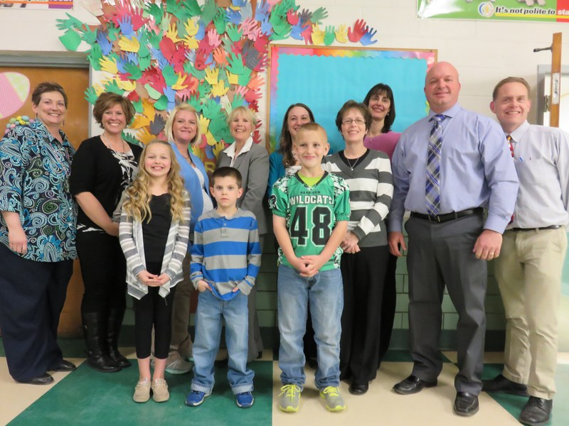 Students Recognized by School Board