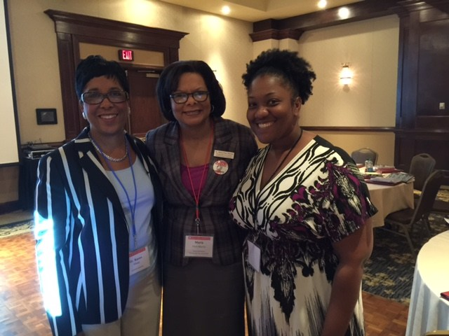 TCS Leaders Working with Dr. Karen Mapp on Building Family Partnerships.