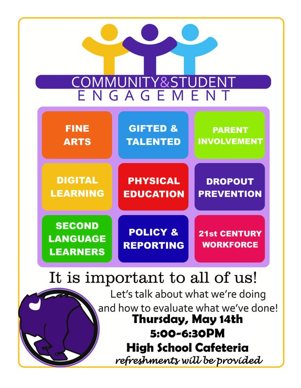 Attention Parents and Community Members!