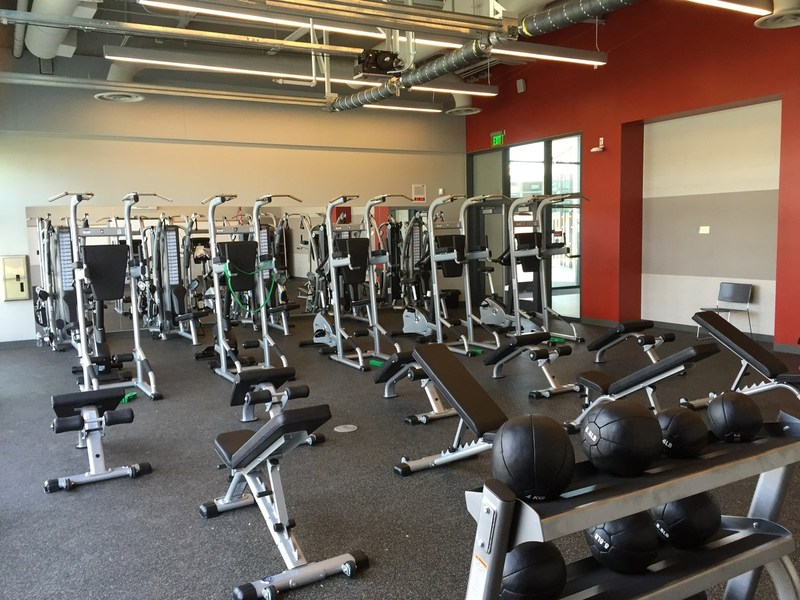 New Fitness Lab at Johnson Middle School