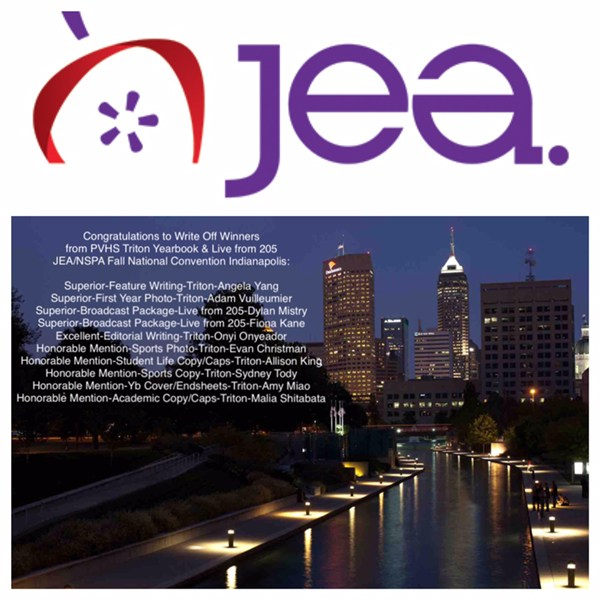 YEARBOOK & 205 WINNERS IN WRITE OFF COMPETITION AT JEA INDIANAPOLIS Thumbnail Image