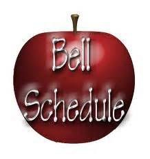 New Bell Schedule for 2015-16
