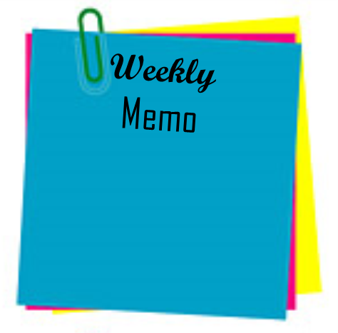 Weekly Memo - January 23-January 27, 2017 Thumbnail Image