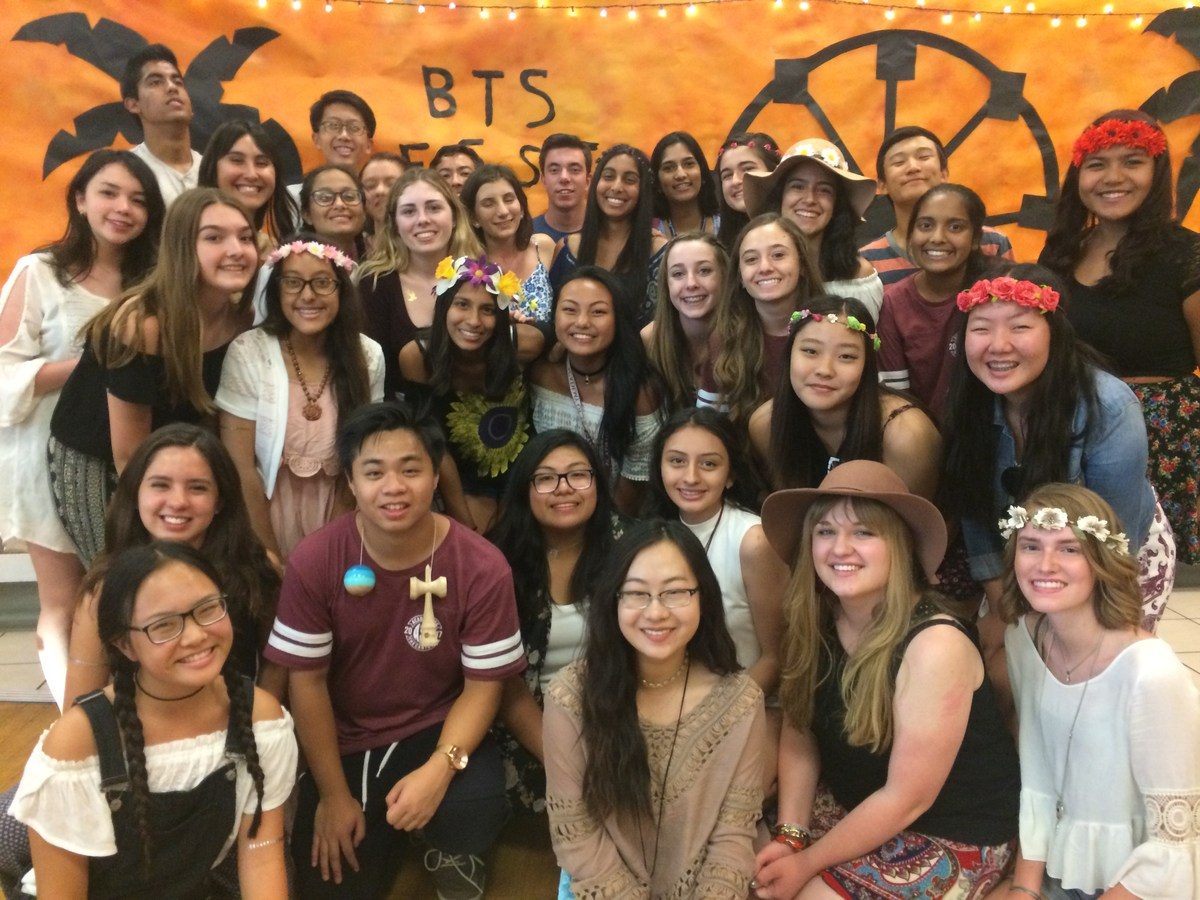 ASB students after setting up the Back to School -Fest