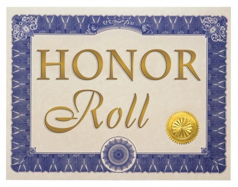 Third Quarter Honors Recipients
