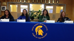 Lady Rowers Sign Letters of Intent