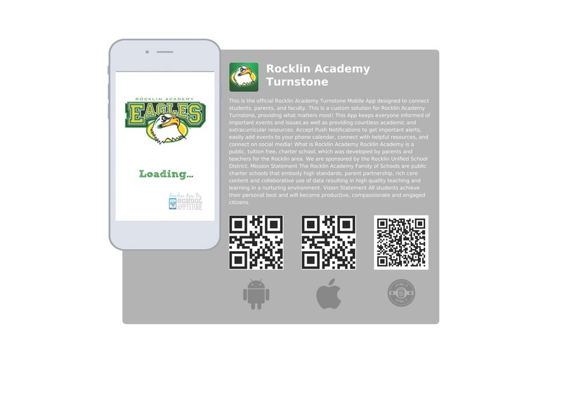 NEW!  RA Turnstone Mobile App--download it from the App Store today!