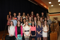 2015 National Junior Honor Society Inductees