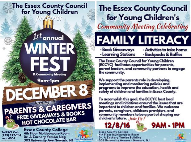 1st Winter Fest for Parents & Caregivers on Thursday, Dec. 8th, from 9 a.m. to 1 p.m. Thumbnail Image