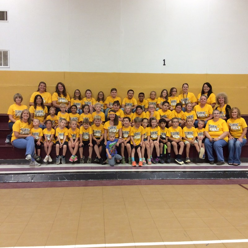 Elementary - Cancer Awareness - Gold Out