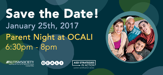 Save the Date - OCALI event