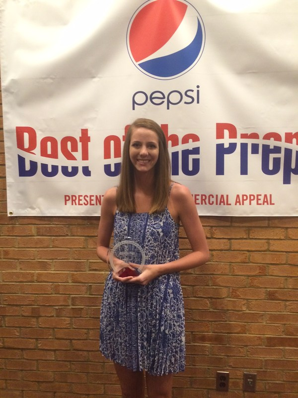 BCS Congratulates Kenzie Fields for Winning The Commercial Appeal Best of the Preps Volleyball Player Award!