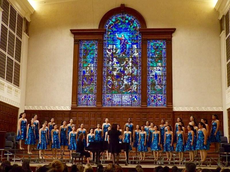 WHS choir, Rhapsody in Blue, performs @ Redlands Festival!