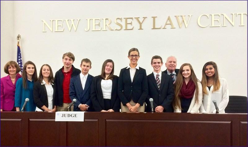 HSHS Mock Trial Team Presents at NJ State Bar Assn Workshop!