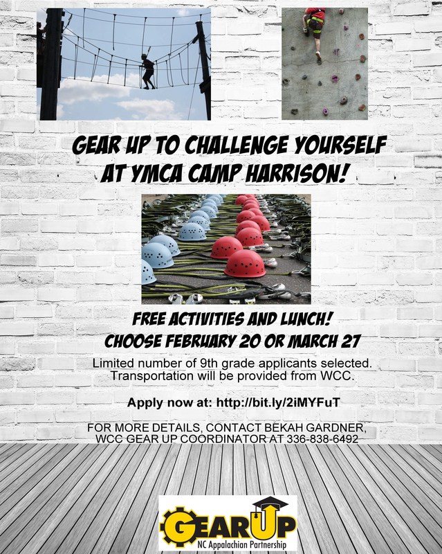 Gear Up Challenge at Camp Harrison Thumbnail Image