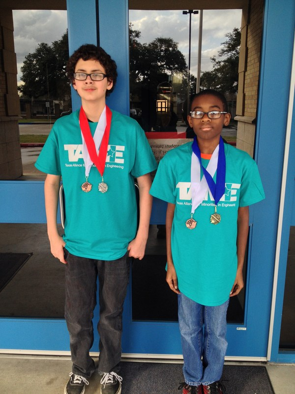 Middle School students earn math, science medals
