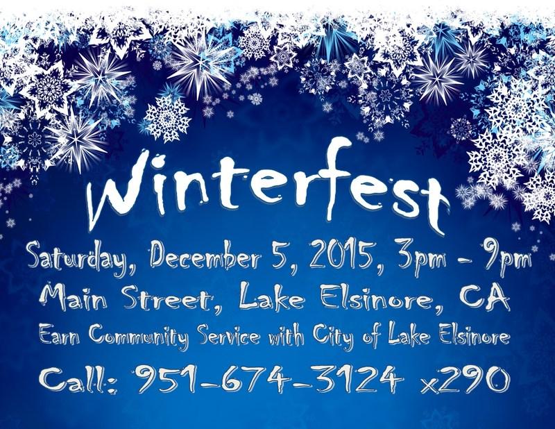Winterfest - Saturday, December 5, 2015, 3:00 pm - 9:00 pm