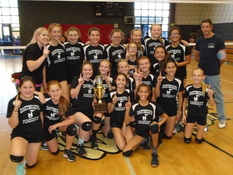 Dartmouth's Girls' Volleyball Team
