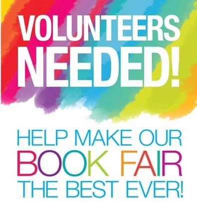 We Need Volunteers for Our Book Fair! Dec. 12 - Dec. 16 Thumbnail Image