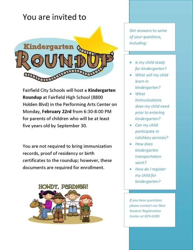 Kindergarten Info Meeting Feb. 22,  Registration Begins March 1