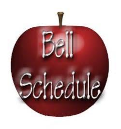 """2015-16 Bell Schedules ~ Every Monday is """"Late Start""""  (Students should arrive by 8:45 a.m.)"""