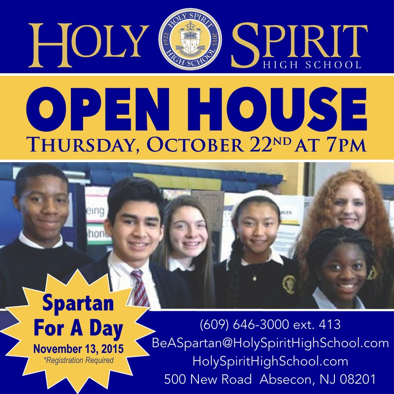 OPEN HOUSE ~ October 22nd 7:00 PM