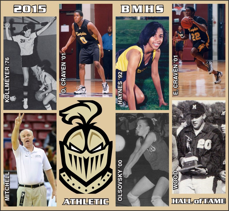 Athletic Hall of Fame Class of 2015 Announced