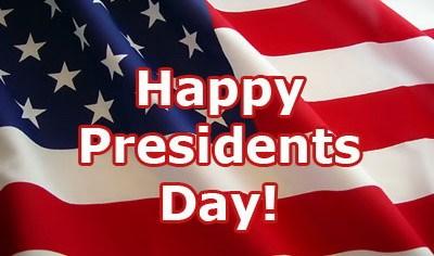 President's Day (NO SCHOOL) 2/15/16