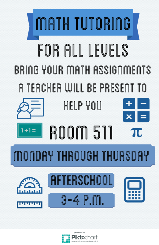 Free Math Tutoring for Students!