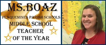Middle School Teacher of the Year Thumbnail Image