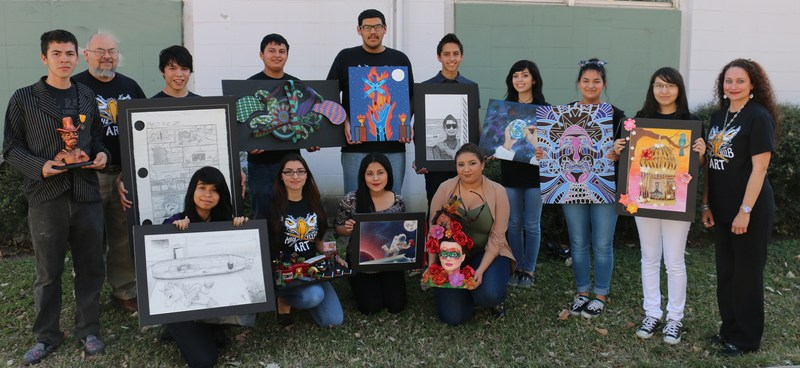 MHS students earn honors at recent visual arts competition; one advancing to state