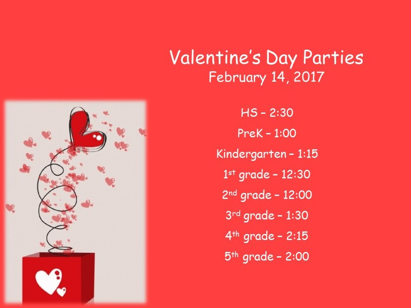 Valentine's Day parties Thumbnail Image