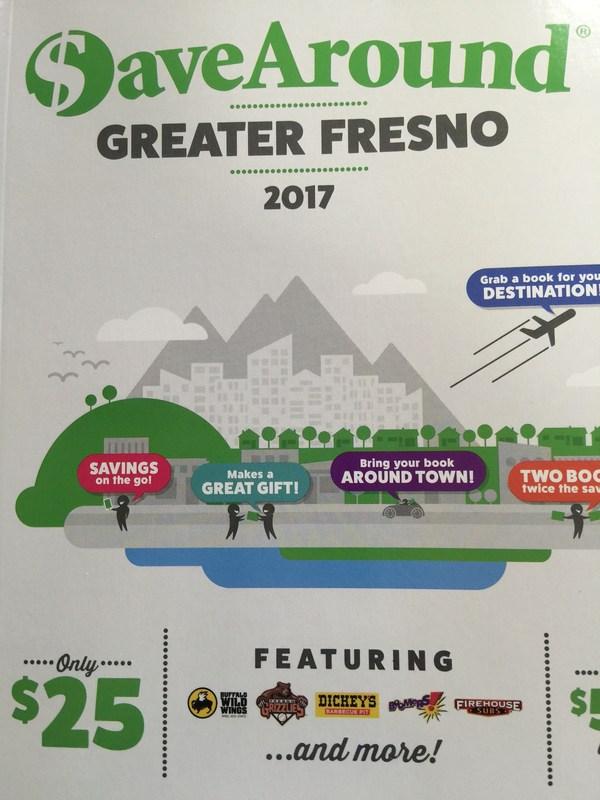 Save Around Greater Fresno 2017 Coupon Book Thumbnail Image