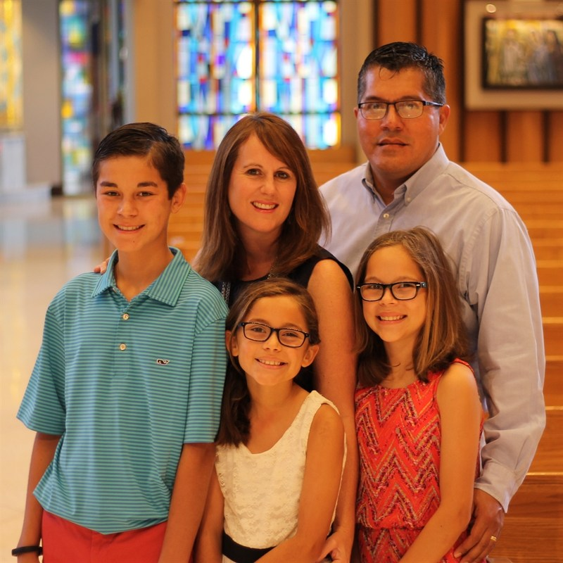"""Congratulations to Joe and Cathy Corrales, the PTO's September """"Volunteers of the Month""""!"""