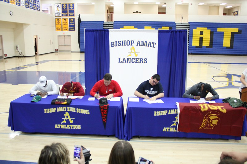 Lancers Participate in National Letter of Intent