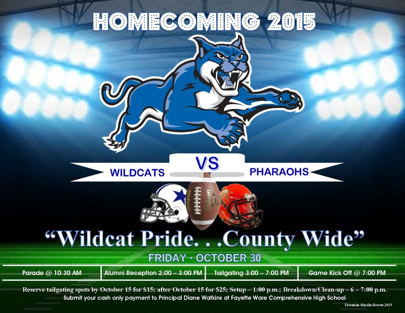 Homecoming Information 2015