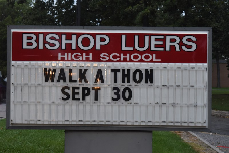 Bishop Luers students raise funds through Walk-A-Thon Sept. 30 Thumbnail Image