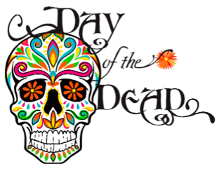 Traditional Day of the Dead Skull