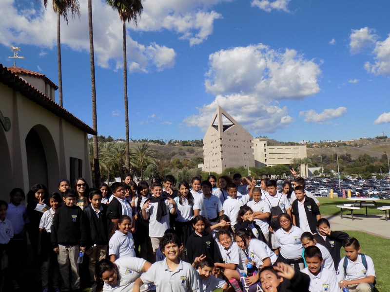 6th graders tour Cal Poly Pomona