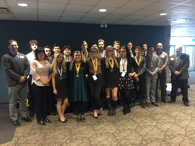 GHS DECA Team photo