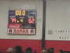 Basketball Scoreboard - Baker versus Port Allen - Baker wins 79 to 62