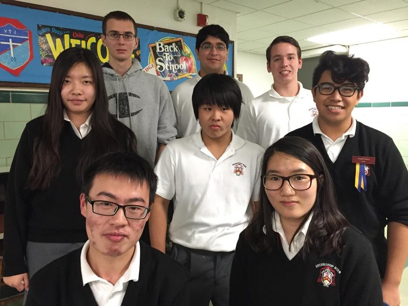 Mathletes Earn Perfect Score
