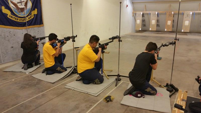 Hawthorne High School NJROTC Cadets Succeed in JROTC Air Rifle Match