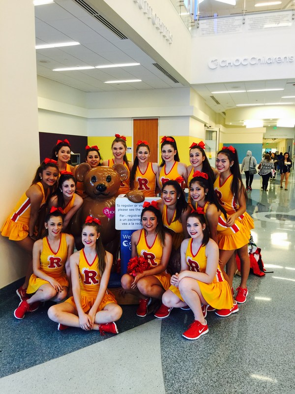 Rosary Dance Team brings cheer to CHOC