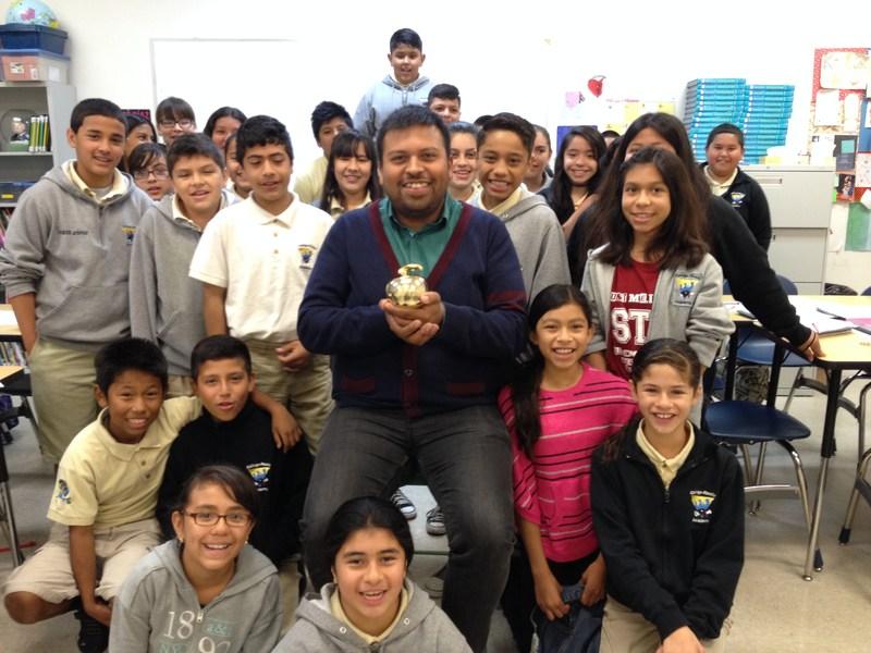 Victor Gonzalez: Alliance Teacher of the Year Finalist!