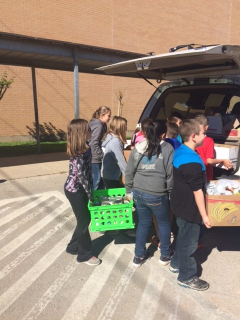 Elementary Canned Food Drive a Success