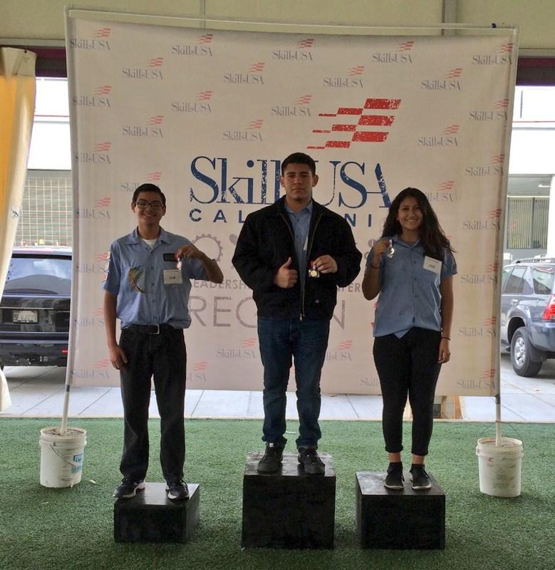 SEROP Skills USA Regional Competition Wins Big!